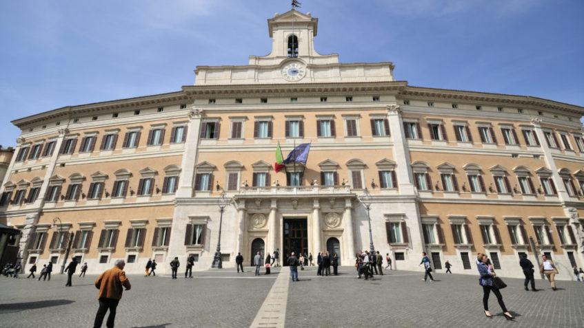 Foto di Palazzo Montecitorio