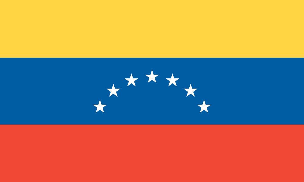 Immagine dell bandiera del Venezuela