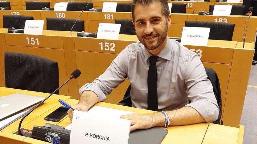 Foto di Paolo Borchia in commissione