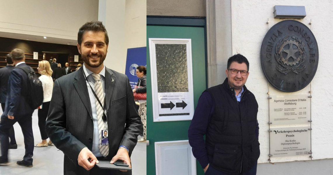Paolo Borchia e Marco Tirapelle
