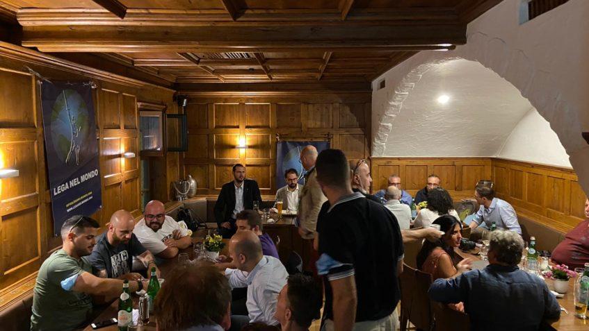 Foto della cena a Monaco